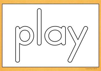 Playdough Mats Sight Words播放Dough Mats  -  Sight Words Pre-Primer {FREE}虽然我创建此套装的目的是使用带有面团的卡片,但还有其他用途,例如:1。ABC订购地板拼图 - 儿童按字母顺序排列单词2。