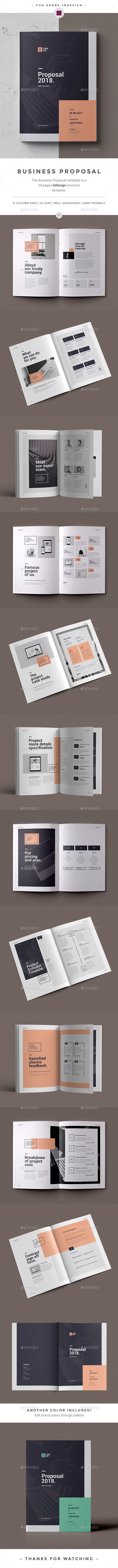 提案 -  InDesign INDD #project提案#best提案•可在此处访问➝https://graphicriver.net/item/proposal/20775208?ref=pxcr