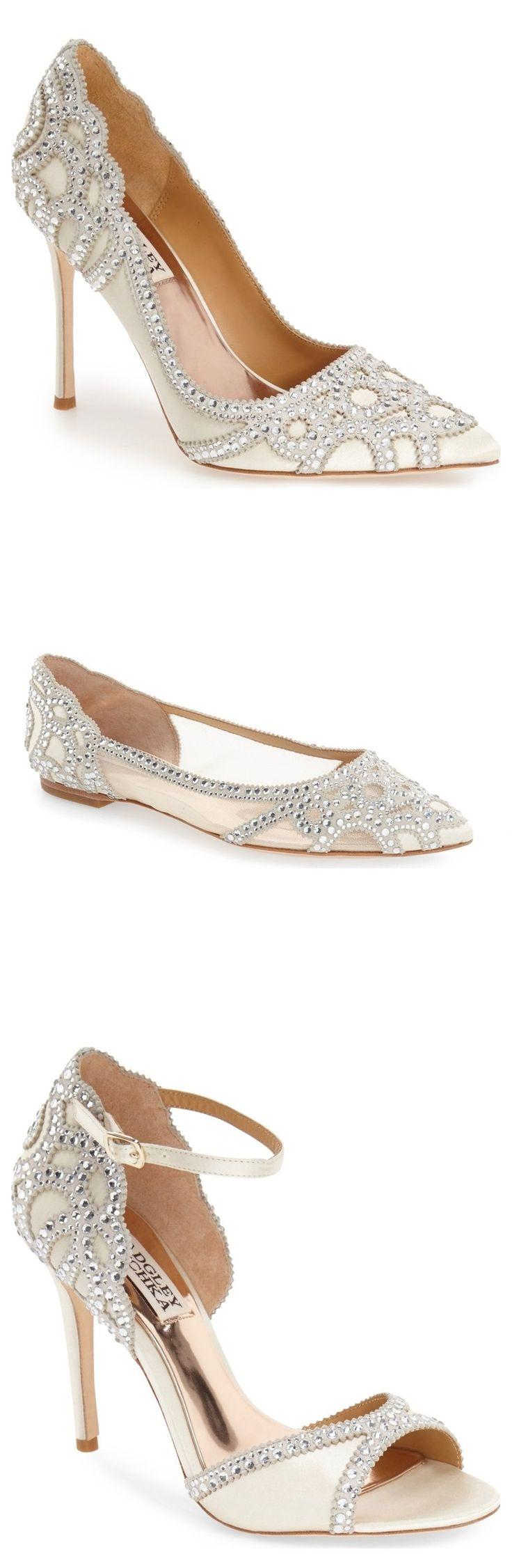 令人惊叹的新娘鞋