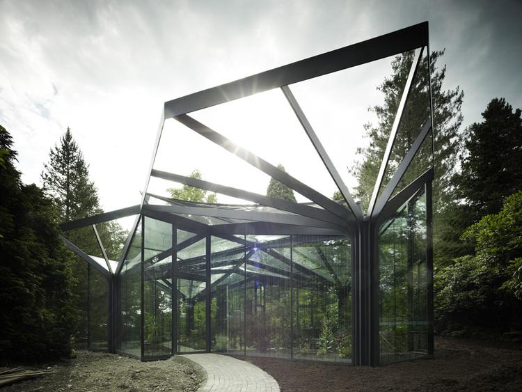 Greenhouse at Grüningen Botanical Garden   Switzerland   Buehrer Wuest Architekten   photo Markus Bertschi