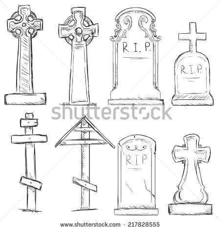 向量组的素描公墓墓碑