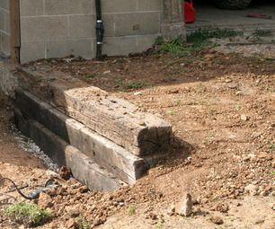 如果您的斜坡需要挡土墙并且可以使用铁路枕木,那么这对您来说是一个完美的项目!我们将向您展示我们如何制作rai ...