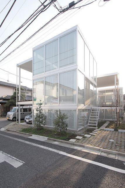 Shakujii Apartment by naoyafujii, via Flickr