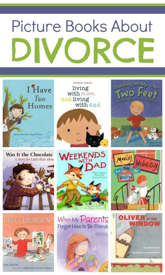 帮助孩子们更多地了解这些关于孩子离婚的书籍在家庭中的分离。