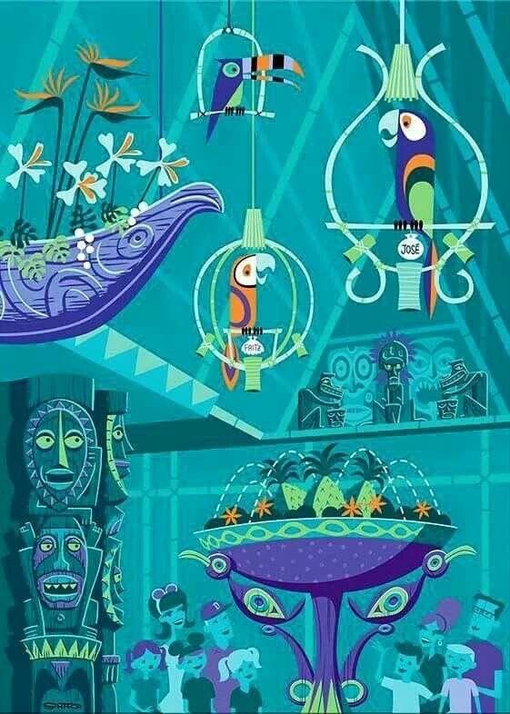 Tiki Room #TikiRoom