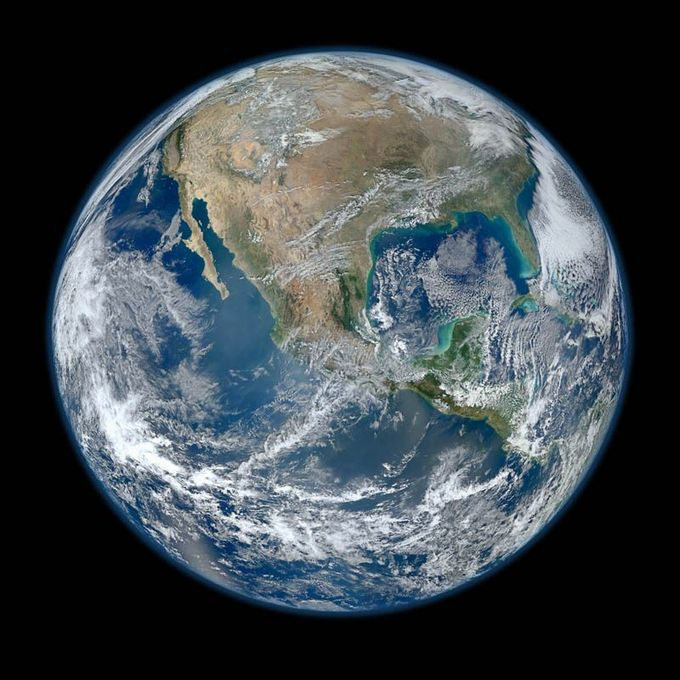 biggest image of earth ever