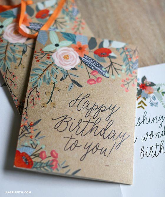 获得由Lia Griffith团队设计的可爱可打印礼品包装。