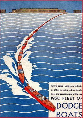 道奇船杂志:老式船杂志