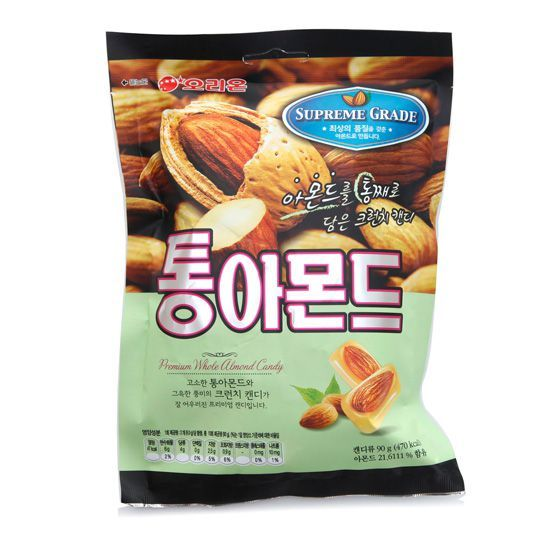 Korean Candy Whole Almond Candy