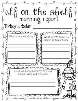 一个有趣的方式将每个人最喜欢的精灵融入你的早晨例程:)只需将一个保护套放在已经存在的早晨工作文件夹中!这适用于3-5级。如果您有任何关于如何更适合的建议