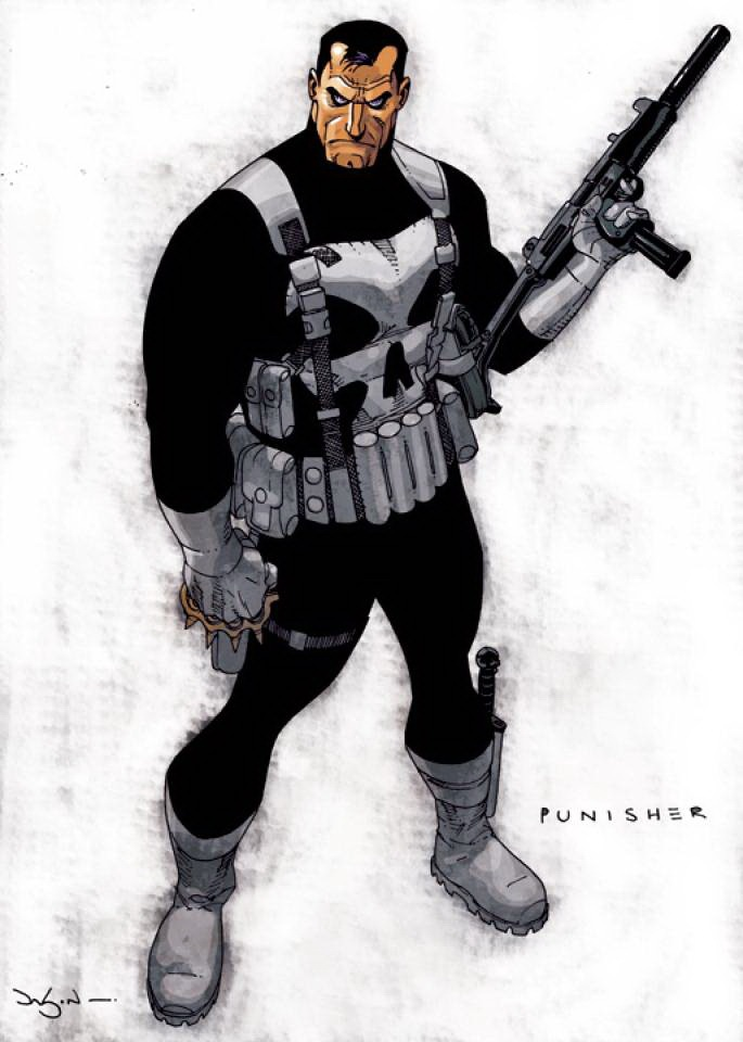 Punisher by Jason Pearson