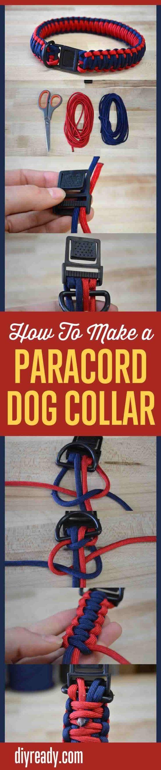 想学习如何制作paracord狗项圈?看一下这个!我们向您展示如何制作约40英尺550 paracord的最终狗项圈。