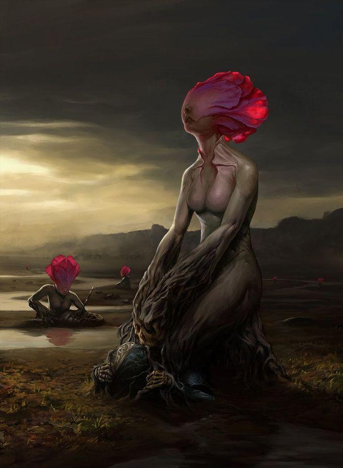 Death Lilies by harkobotond on deviantART