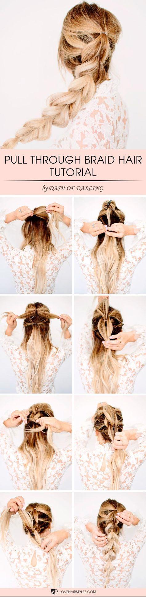 通过这种穿过辫子发型教程,你会添加一些新的东西给你的外观。此外,你可以使它光滑或大。