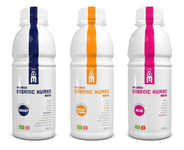 Wellness Water, Organic Human
