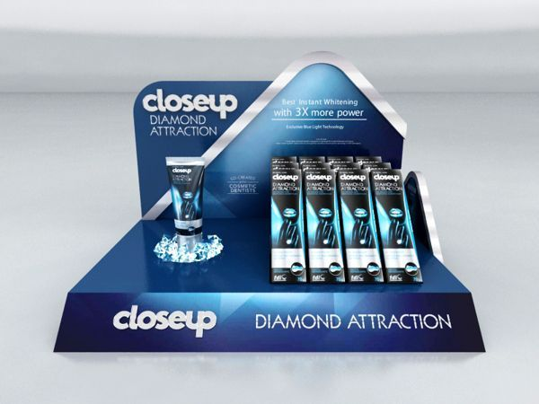 Close Up - diamond - Counter stands display design - display ideas store - product display design - creative display | P.O.S.M. | China Supplier by Parkway Display at POPAI-Global.com