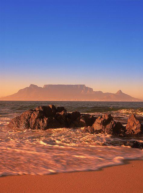 开普敦和桌山(南非)