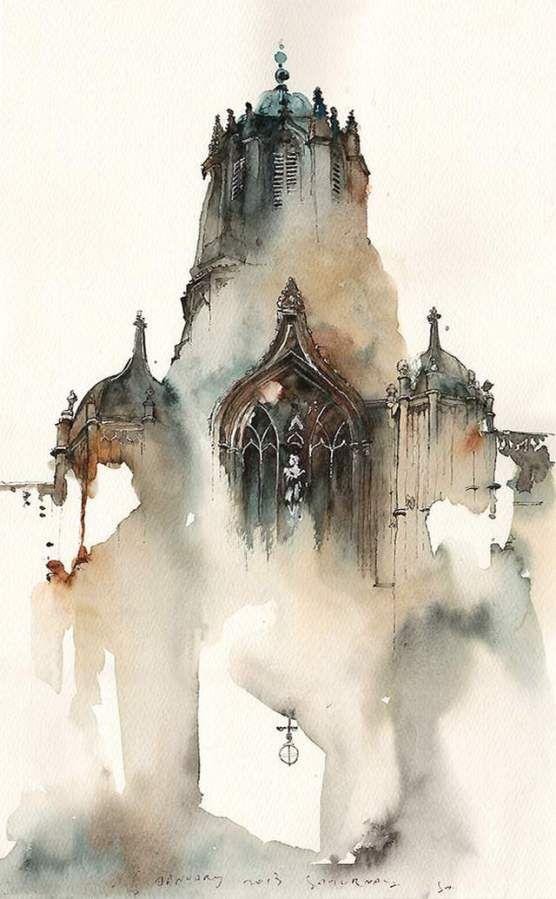建筑,绘画Sunga园-1