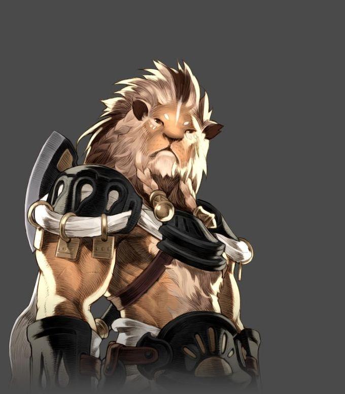 Hazadin from Dungeon Striker