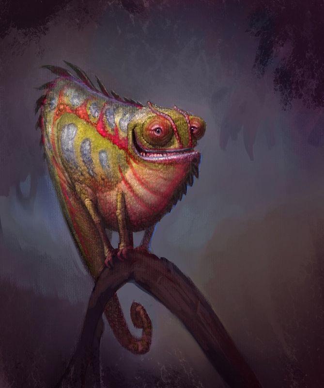 Sam Nielson Chameleon Triadic ColorShift.