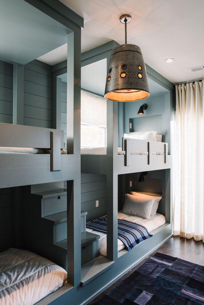 Epple Residence |史密斯哈内斯。儿童双层床