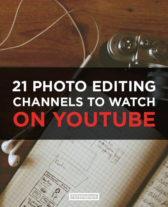 通过观看最佳Youtube频道,了解专业人士的后期处理技巧。拥有我们的22个Youtube频道进行照片编辑。