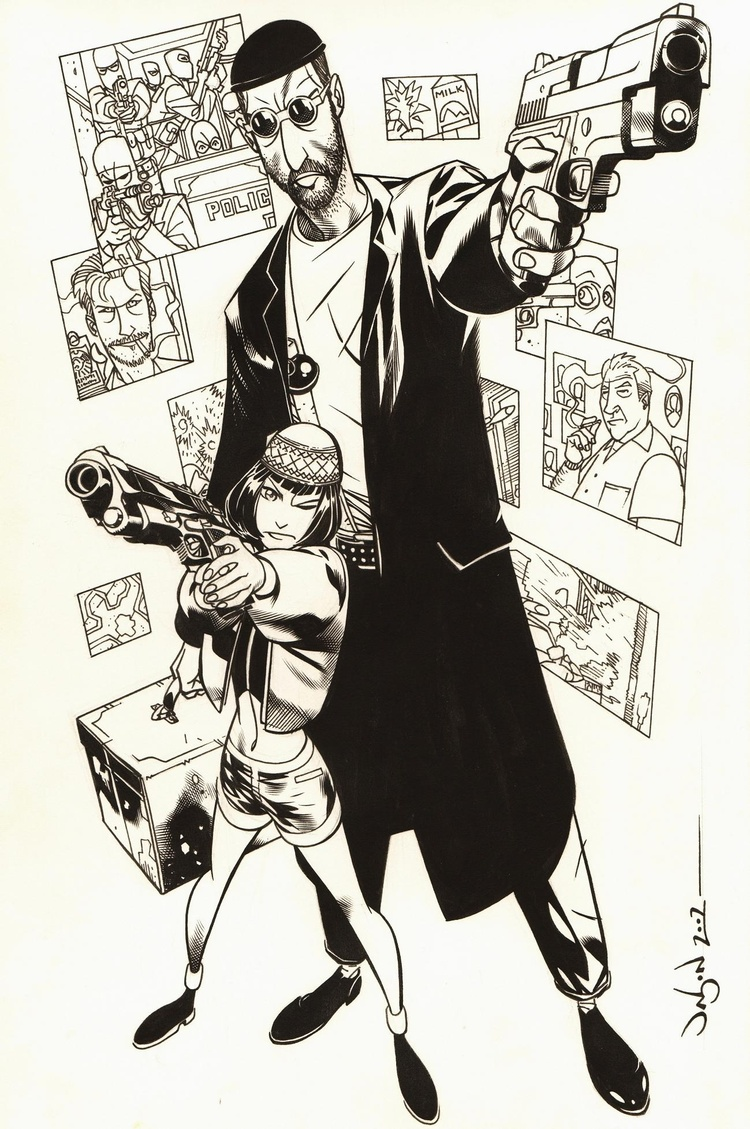 Leon - The Professional by Jason Pearson
