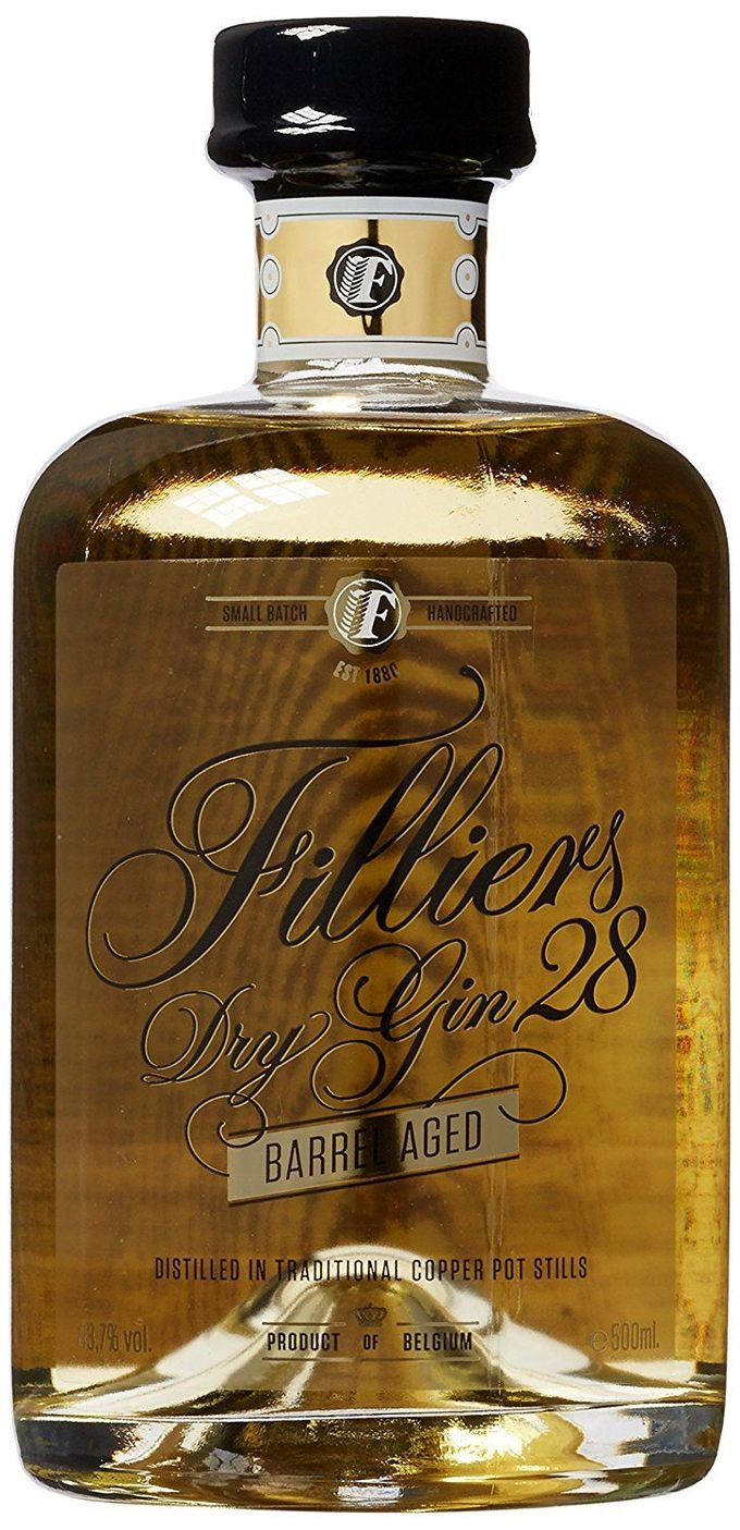 Filliers Filliers 28 Dry Barrel Aged Gin (1 x 0.5 l)