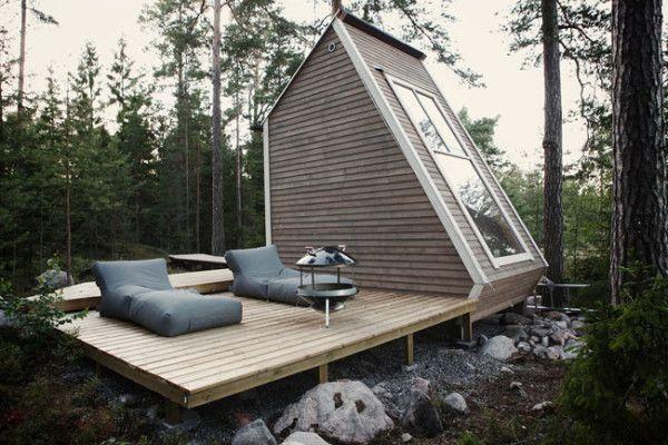 芬兰的小木屋