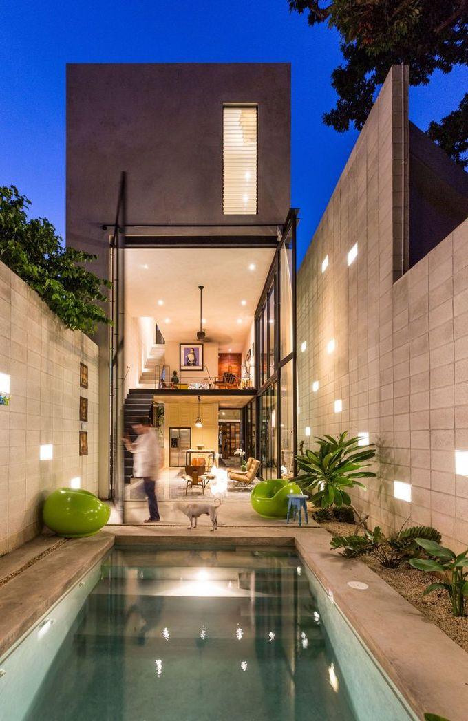 ##墨西哥的建筑 - #House by Estilo Arquitectura