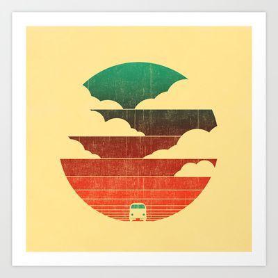 Go West Art Print by Budi Satria Kwan - $19.97