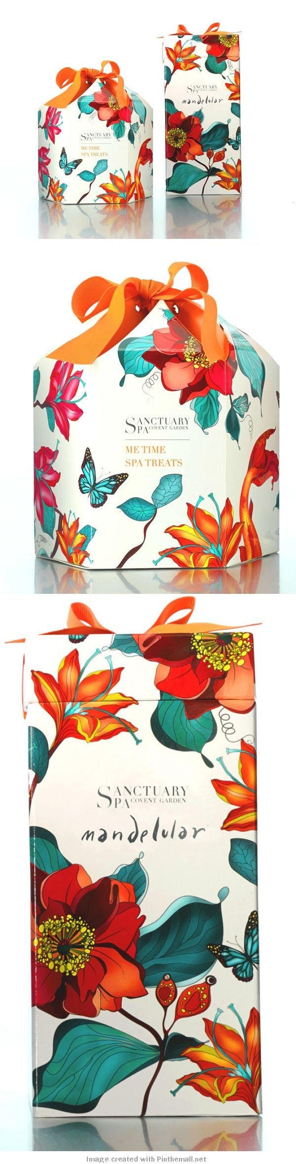 Sanctuary Spa packaging