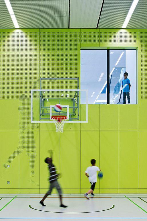 School Gymnasium by KIRSCH Architecture