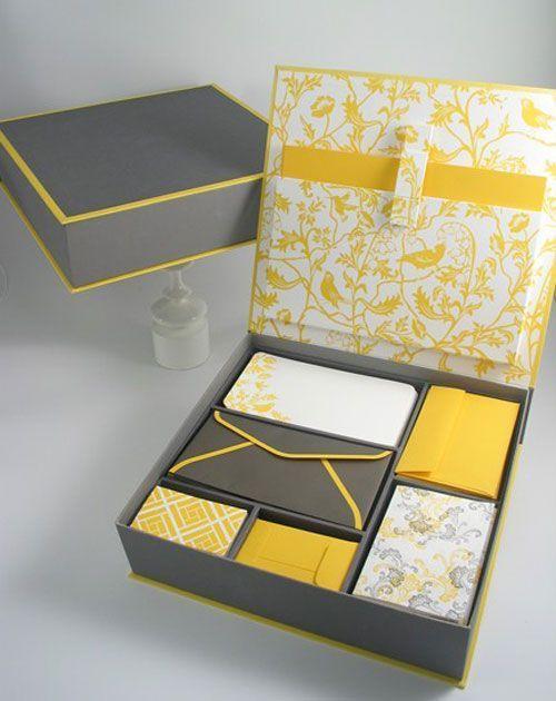 Boxed Stationary Set, Elum.