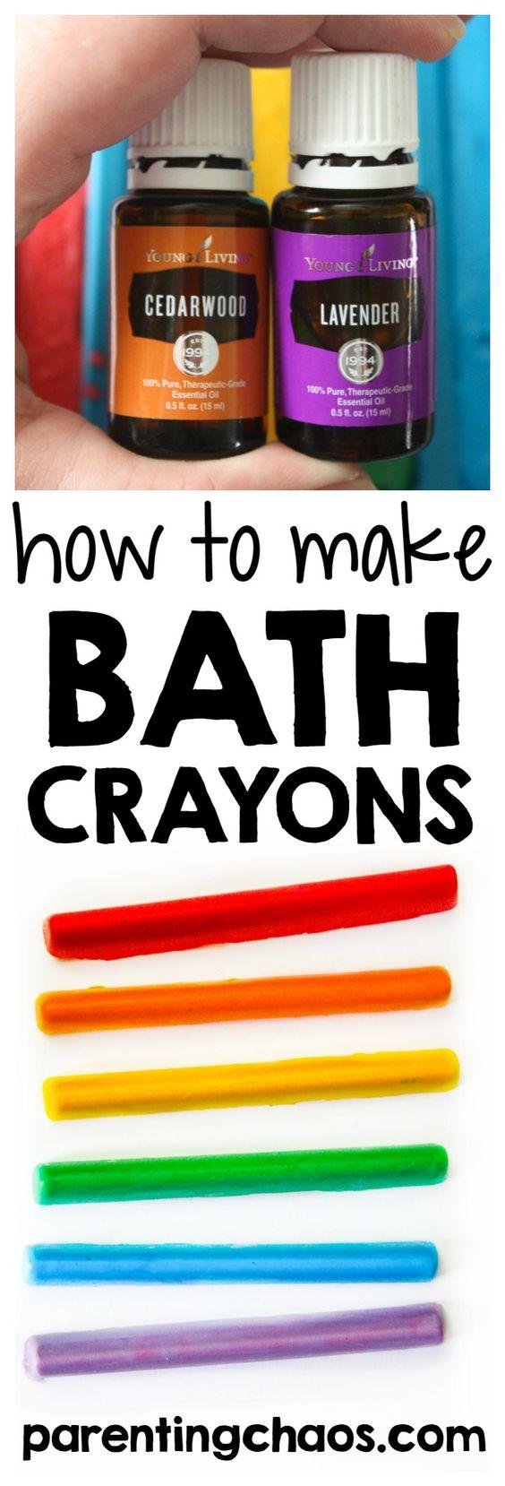 学习如何使用这个简单的教程制作自制的蜡笔。你的孩子将有一个爆炸制作和玩这些自制的浴缸的颜色!