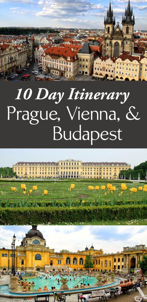 10天中欧行程。参观布达佩斯,维也纳,布拉格和捷克克鲁姆洛夫。酒店和餐馆的建议和最佳时机。
