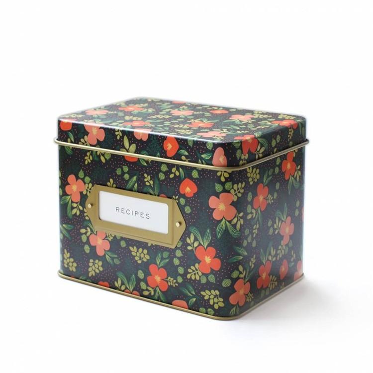 午夜花园锡食谱盒