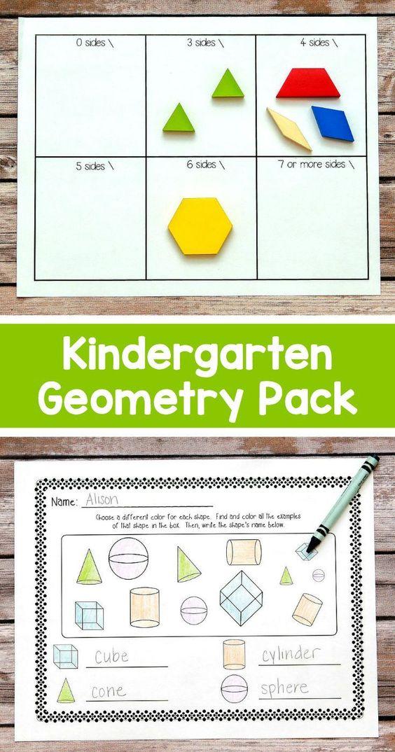 用于二维和三维形状的几何工作表,用于形状和位置字的海报,以及用于中心的分类垫!这些材料非常适合数学中心,额外练习,小组和/或家庭作业。 ------这是几何活动的补充包,以补充你的
