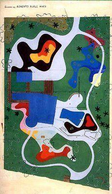 Roberto Burle Marx landscape/residence BURTON TREMAINE santa barbara- California