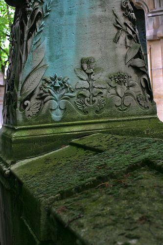 Burial Pere Lachaise墓地;父亲拉雪兹公墓墓。