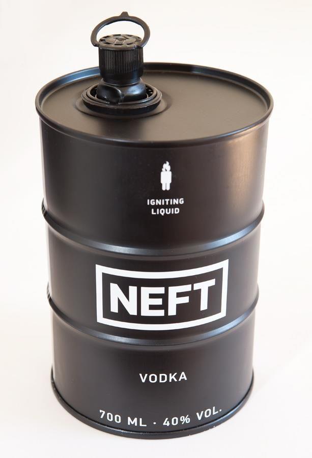 Neft Vodka   #bottledesign #packaging #vodka