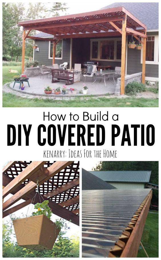 当你在这个详细的教程中学习如何建造一个DIY天井时,你将能够享受你的后院,同时保护自己免受阳光照射。