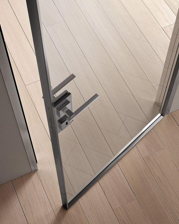 铰链玻璃和铝门G-LIKE |铰链门 -  GIDEA