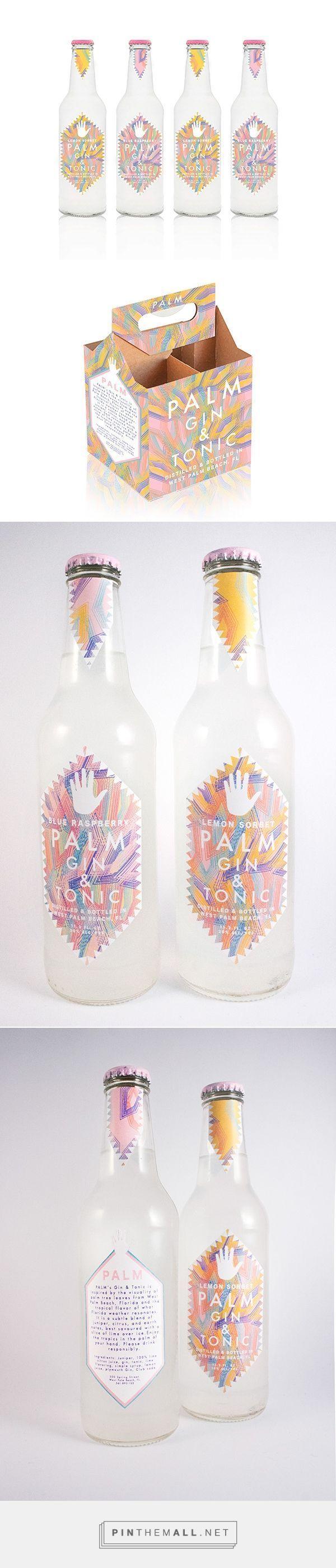 Hometown Gin and Tonic packaging on Pratt Portfolios