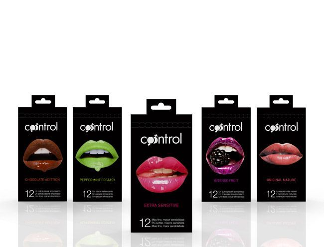 Packaging of the World: Creative Package Design Archive and Gallery: Control (Student Work) Condoms