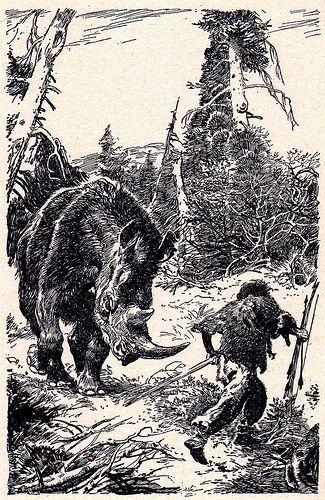 wooly_rhinoceros_hunter_by_zdenek_burian