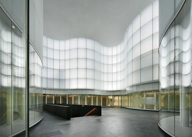 """大卫·奇普菲尔德(David Chipperfield)将米兰博物馆视为""""地板之战""""。"""