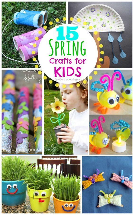 15春季儿童工艺品让您和您的孩子为春天而兴奋!