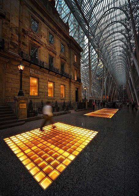 Allen Lambert Galleria by Santiago Calatrava at Brookfield Place, Toronto