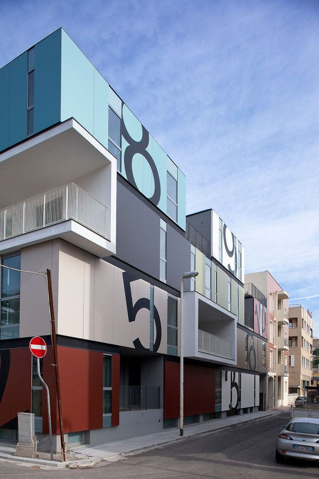 Cagliari (CA), Italia  Condominio P  C+C04STUDIO